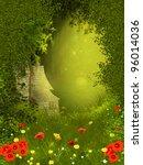 fairy forest | Shutterstock . vector #96014036