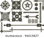 celtic traditional elements for ...