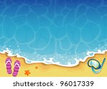 summer tropical banner | Shutterstock . vector #96017339