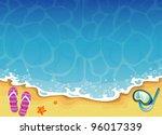 summer tropical banner | Shutterstock . vector #96017339