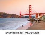 Golden Gate Bridge At Dusk  Su...