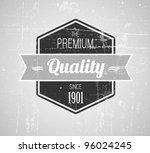 old dark retro vintage grunge... | Shutterstock .eps vector #96024245