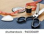 still life photo of bespoke... | Shutterstock . vector #96030689