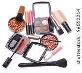 makeup collection isolated on... | Shutterstock . vector #96052214