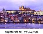 The View On Prague Gothic...
