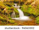 upper chasteen creek in the... | Shutterstock . vector #96063302