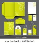 stationery design set in vector ... | Shutterstock .eps vector #96096368