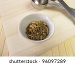 centaury  centaurii herba | Shutterstock . vector #96097289
