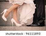 wedding details | Shutterstock . vector #96111893
