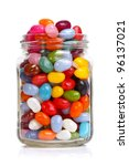 jelly beans sugar candy snack...