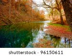autumn spring in missouri | Shutterstock . vector #96150611