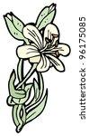 flower cartoon | Shutterstock . vector #96175085