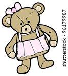 teddy bear cartoon   Shutterstock . vector #96179987