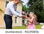family affairs   father and... | Shutterstock . vector #96190856