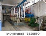 industrial size generators in a ... | Shutterstock . vector #9620590