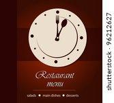 dinner time | Shutterstock .eps vector #96212627