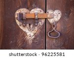 Heart Shaped Door Lock