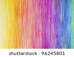 Pencil Color Rainbow Background