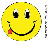 smiling emoticon | Shutterstock .eps vector #96258164