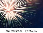 fireworks on independence day.... | Shutterstock . vector #9625966