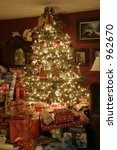 christmas studio fantasy set ... | Shutterstock . vector #962670