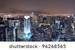 Aerial View Of Buildings In Ne...