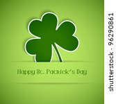 Shamrock, clover design, perfect for St. Patrick