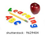 the abc's of life. education is ... | Shutterstock . vector #9629404