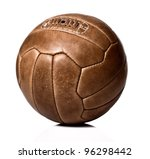 image of retro leather soccer... | Shutterstock . vector #96298442