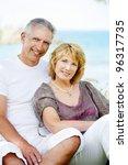 portrait of a happy mature...   Shutterstock . vector #96317735