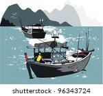 vector illustration of... | Shutterstock .eps vector #96343724