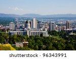 salt lake city  utah | Shutterstock . vector #96343991