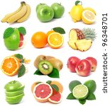 the most useful fruit for all... | Shutterstock . vector #96348701