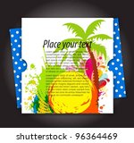 abstract modern banner theme... | Shutterstock .eps vector #96364469