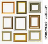 picture frames | Shutterstock . vector #96388634
