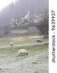 Remote Hill Farm In The U.k.