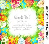 illustration of colorful... | Shutterstock .eps vector #96399485