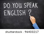 learning language   english.... | Shutterstock . vector #96403217