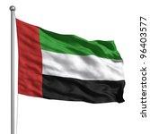 united arab emirates flag   Shutterstock . vector #96403577