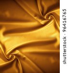 Golden Satin Texture  Brocade