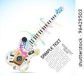 Illustration Of Music Doddle I...