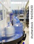 modern industrial shop on... | Shutterstock . vector #96435650