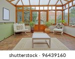 conservatory tables chairs... | Shutterstock . vector #96439160