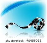 film strip   vector illustration | Shutterstock .eps vector #96459035