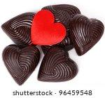 Yummy Dark Heart Shapes...