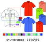 shirt | Shutterstock .eps vector #9646498