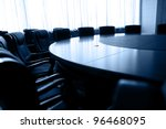 conference table and chairs in... | Shutterstock . vector #96468095