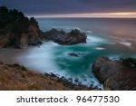 Pacific Coastline. Mcway Falls...