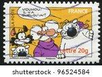 france   circa 2006  a stamp... | Shutterstock . vector #96524584