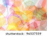 leaf background   Shutterstock . vector #96537559